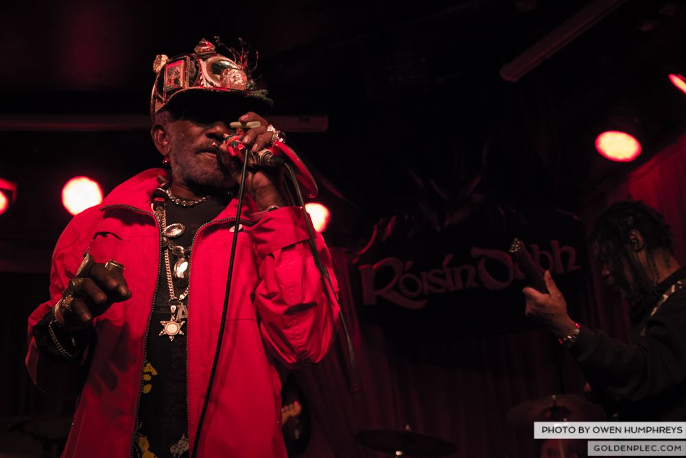 Lee Scratch Perry @ Roisin Dubh on 18-3-14 (2 of 14)