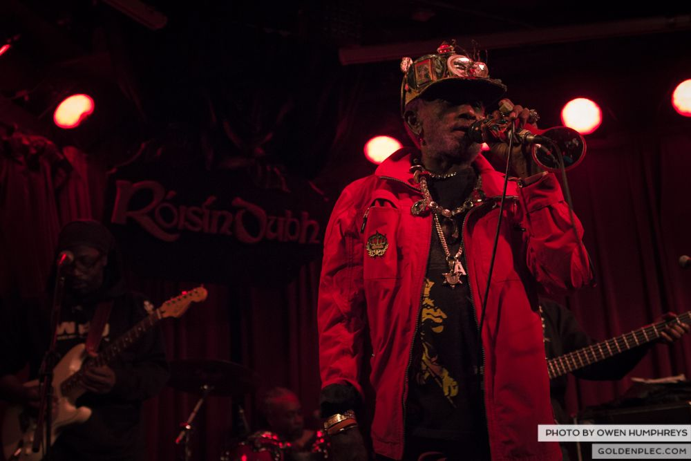 Lee Scratch Perry @ Roisin Dubh on 18-3-14 (7 of 14)