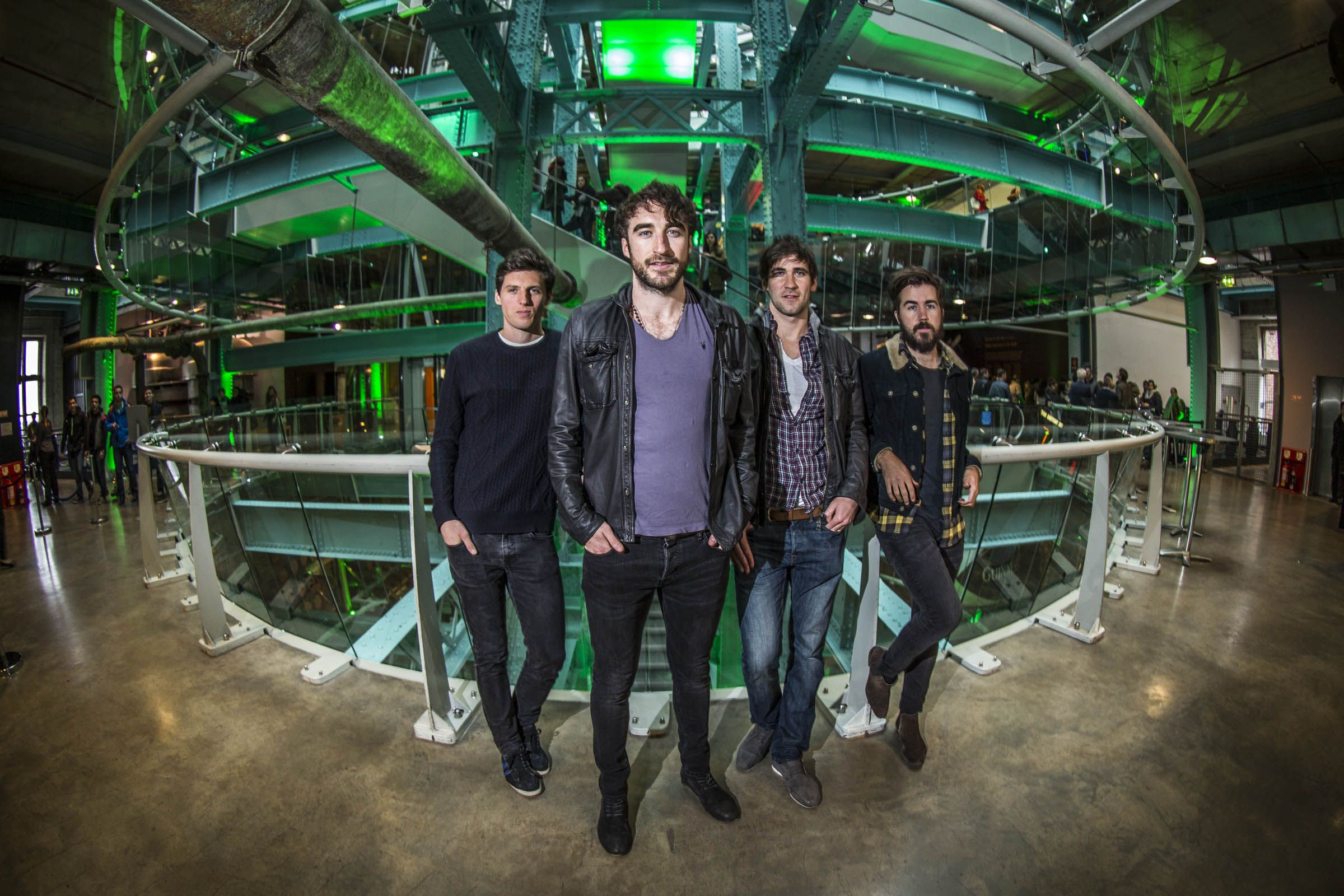 The Coronas at Guinness Storehouse by Andres Poveda
