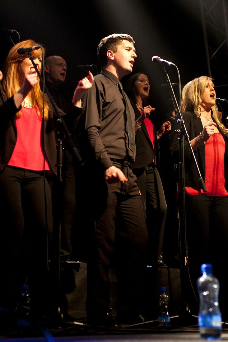 GP – Dublin Gospel Choir – The Button Factory – Abraham Tarrush (10)