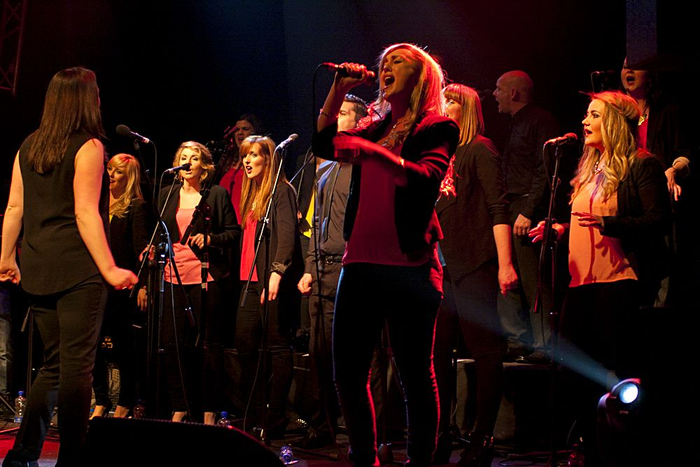 GP – Dublin Gospel Choir – The Button Factory – Abraham Tarrush (16)