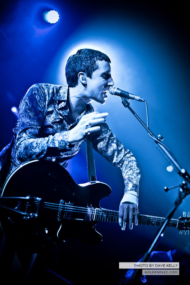 Miles Kane at The Academy by Dave Kelly