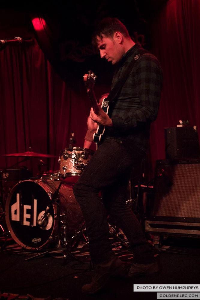 Delorentos at Roisin Dubh's 10th Birthday by Owen Humphreys (5 of 11)