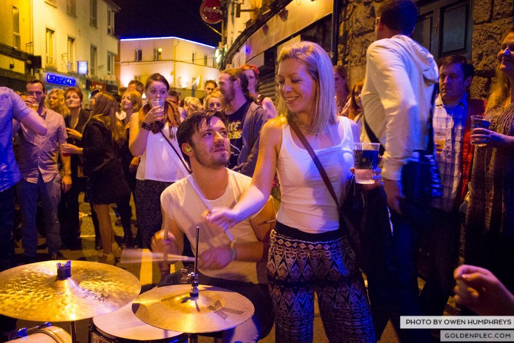 Booka Brass Band at the Roisin Dubh – Galway Arts Festival by Owen Humphreys (24 of 26)