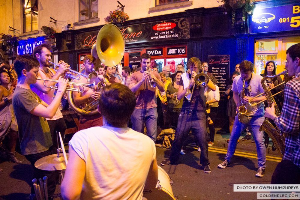 Booka Brass Band at the Roisin Dubh – Galway Arts Festival by Owen Humphreys (26 of 26)