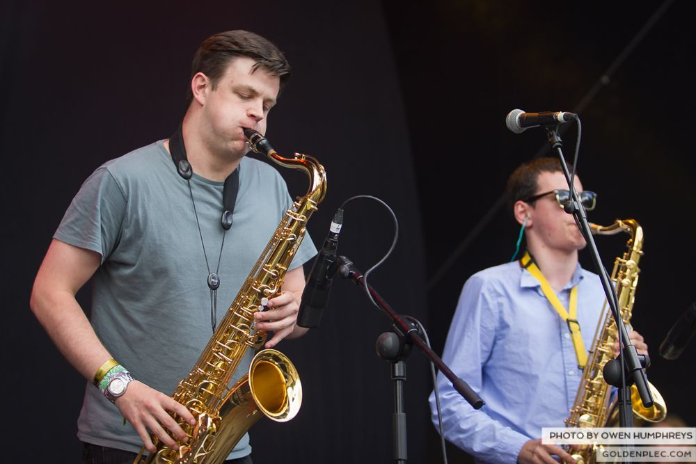 Booka Brass Band ft. Jerry Fish at Groove Festival 2014 (1 of 13)