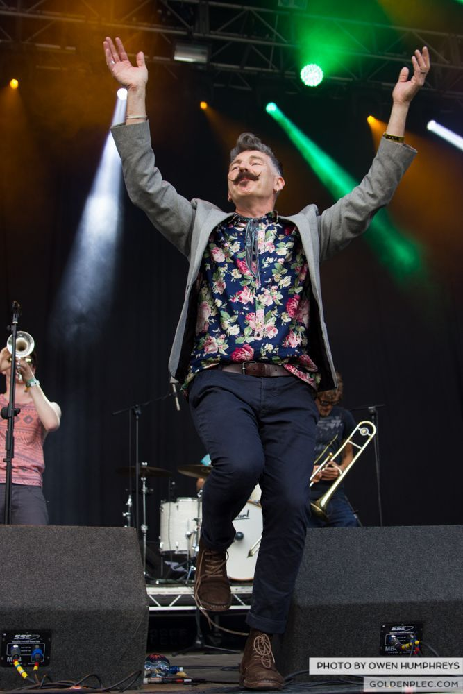 Booka Brass Band ft. Jerry Fish at Groove Festival 2014 (10 of 13)