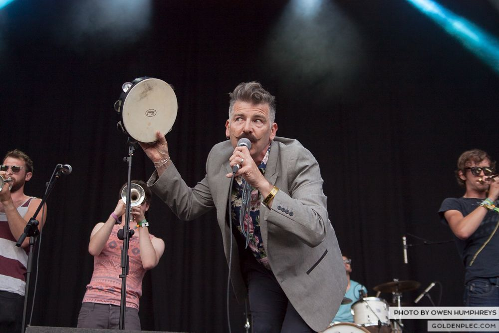 Booka Brass Band ft. Jerry Fish at Groove Festival 2014 (2 of 13)