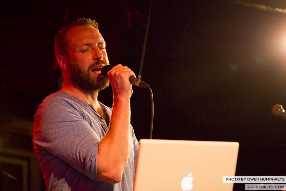 Brian Deady at the Roisin Dubh – Galway Arts Festival by Owen Humphreys (1 of 6)