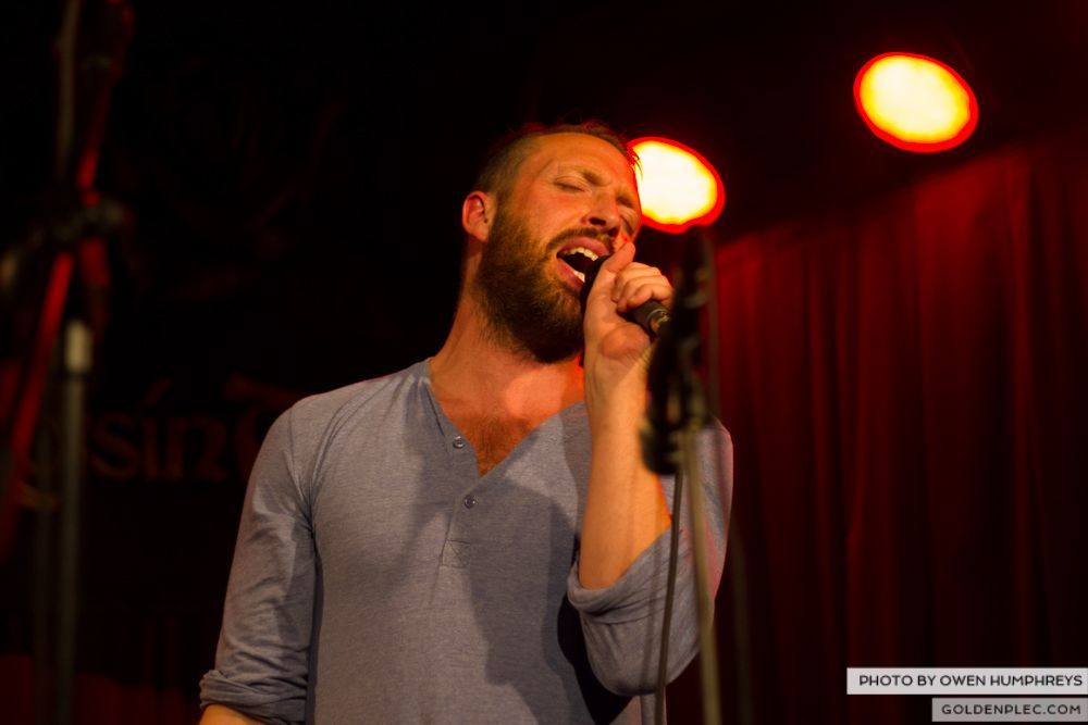 Brian Deady at the Roisin Dubh – Galway Arts Festival by Owen Humphreys (5 of 6)