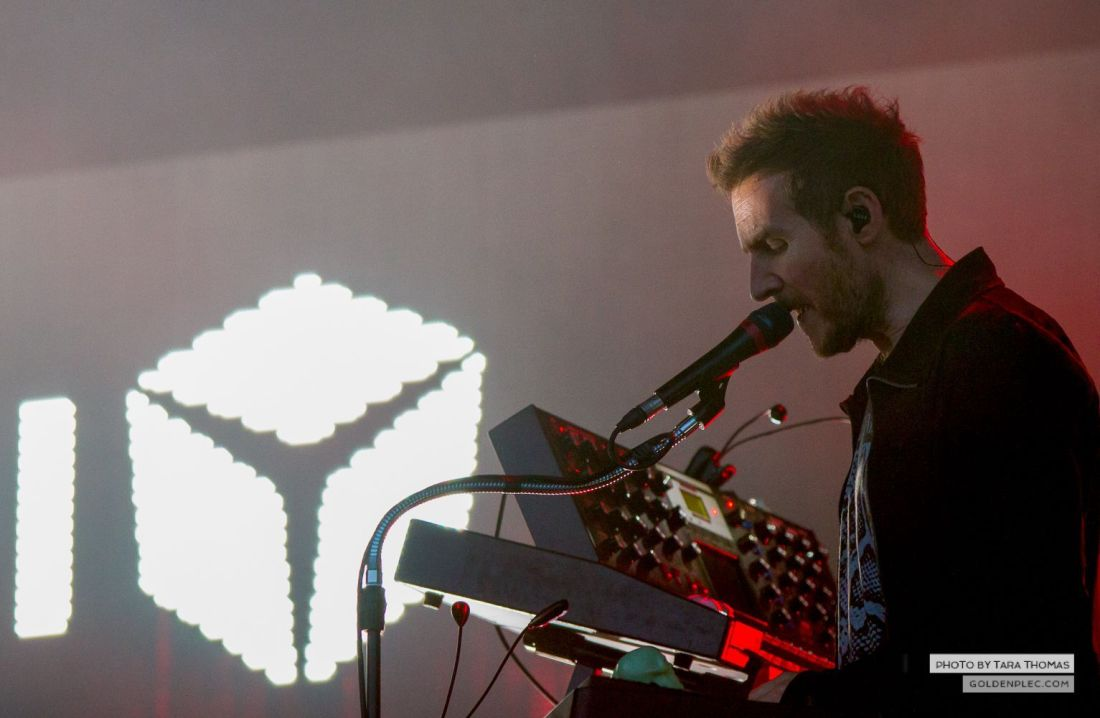 Massive Attack at Longitude by Tara Thomas-