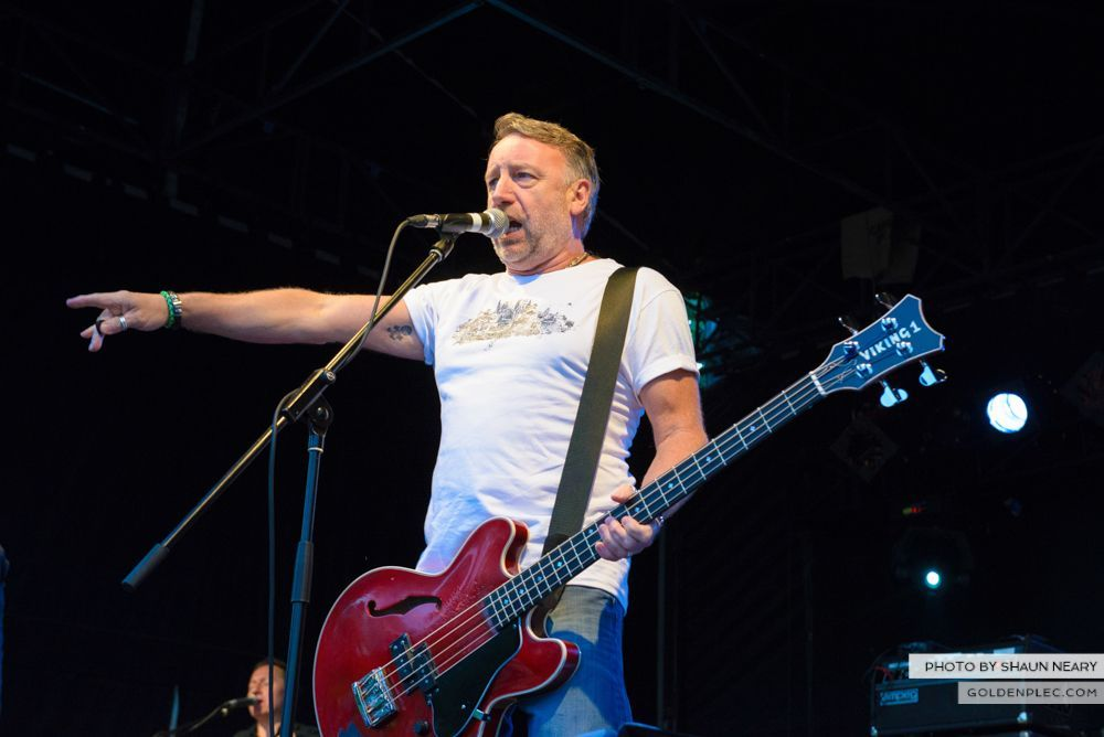 Peter Hook & The Light at Leopardstown Racecourse, Dublin on July 10th 2014 by Shaun Neary-10