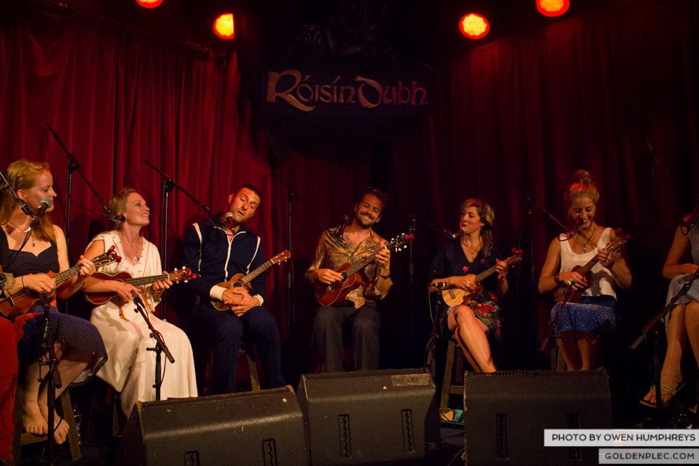 West Cork Ukulele Orchestra at the Roisin Dubh – Galway Arts Festival by Owen Humphreys (6 of 15)
