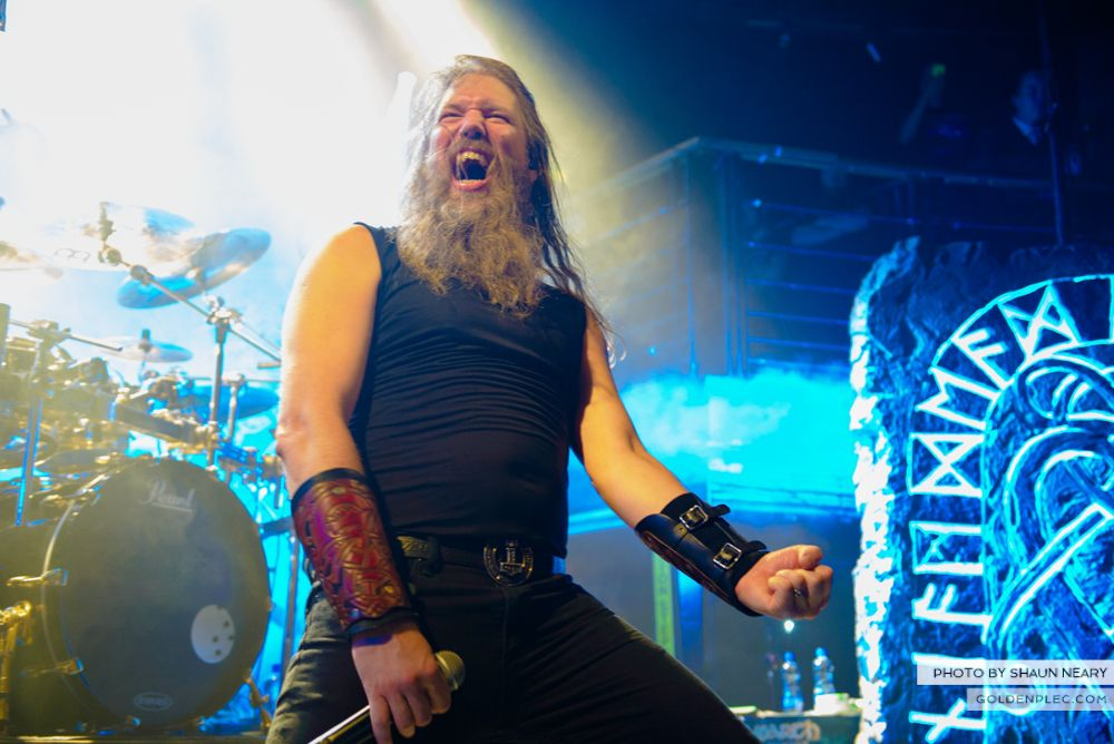Amon Amarth at The Academy, Dublin on August 13th 2014 by Shaun Neary-02