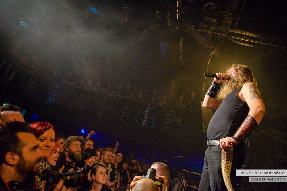 Amon Amarth at The Academy, Dublin on August 13th 2014 by Shaun Neary-12