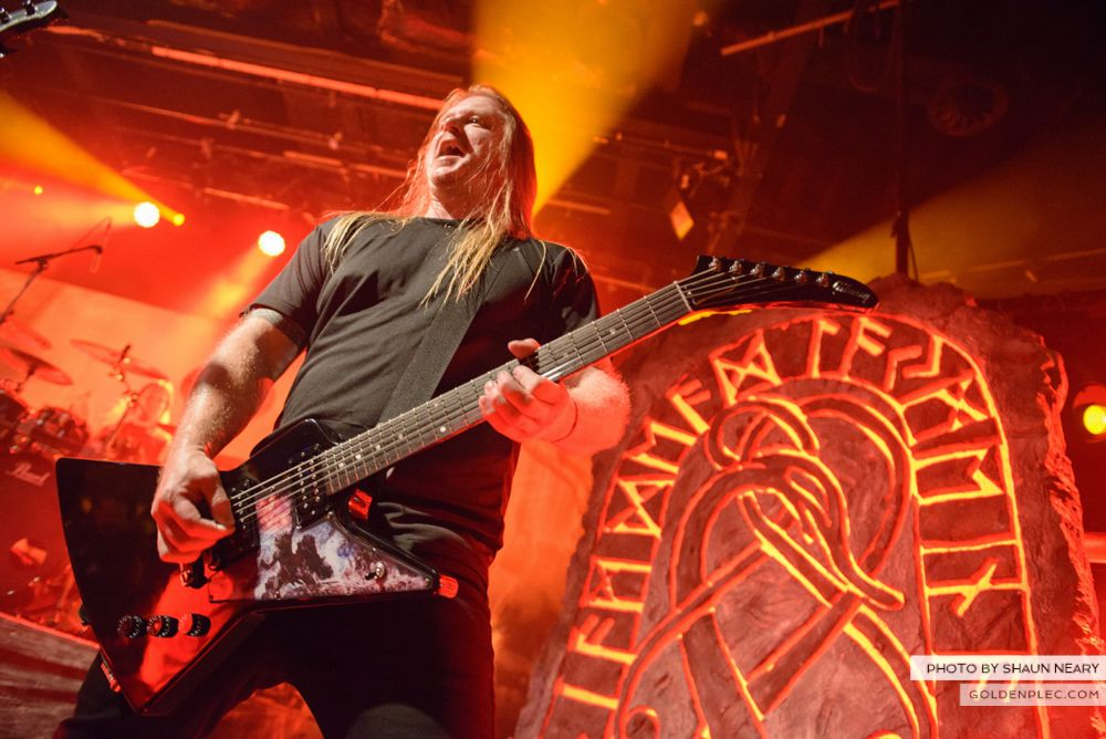 Amon Amarth at The Academy, Dublin on August 13th 2014 by Shaun Neary-14