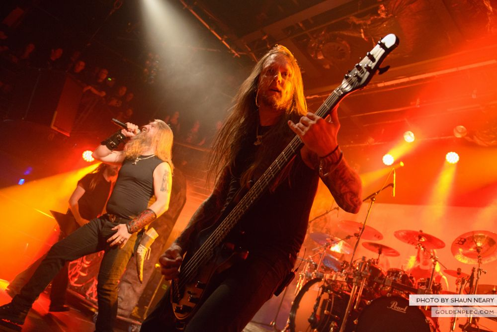 Amon Amarth at The Academy, Dublin on August 13th 2014 by Shaun Neary-15