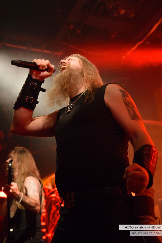 Amon Amarth at The Academy, Dublin on August 13th 2014 by Shaun Neary-21