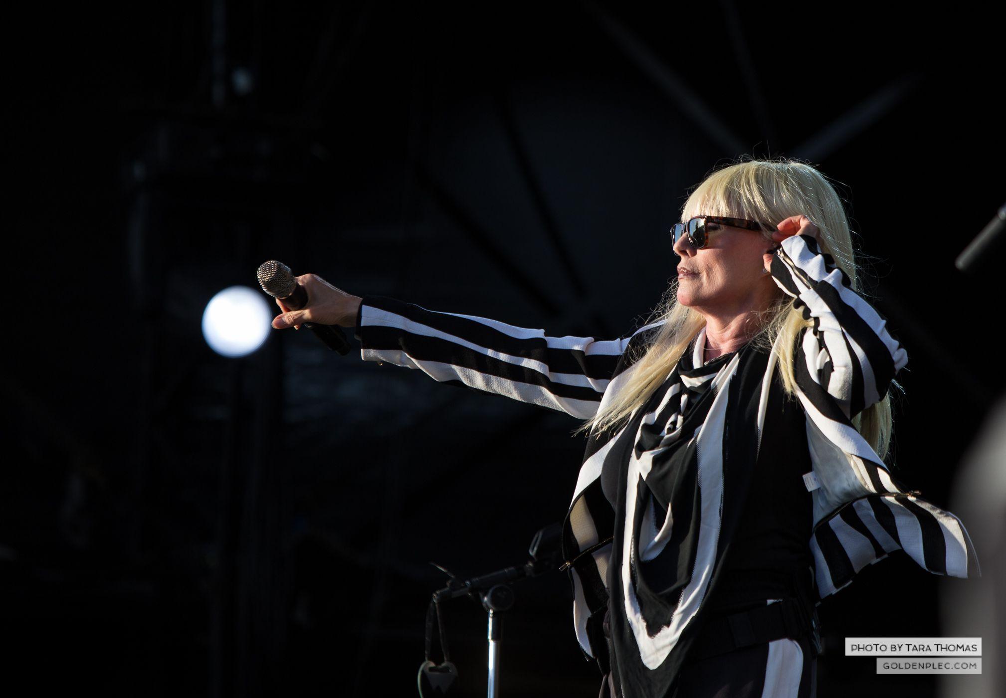 Blondie at Electric Picnic by Tara Thomas