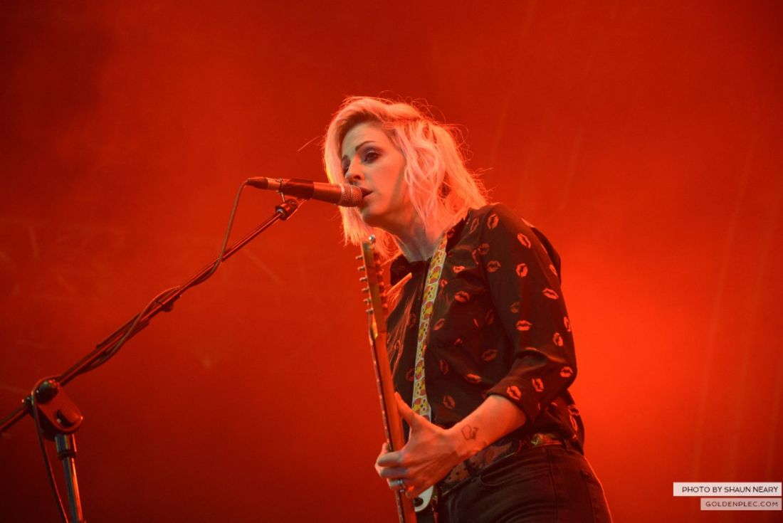 Brody Dalle – Belsonic, Belfast on August 20th 2014 by Shaun Neary-2