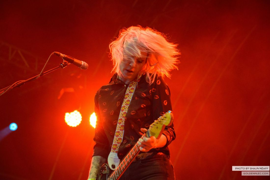 Brody Dalle – Belsonic, Belfast on August 20th 2014 by Shaun Neary-4