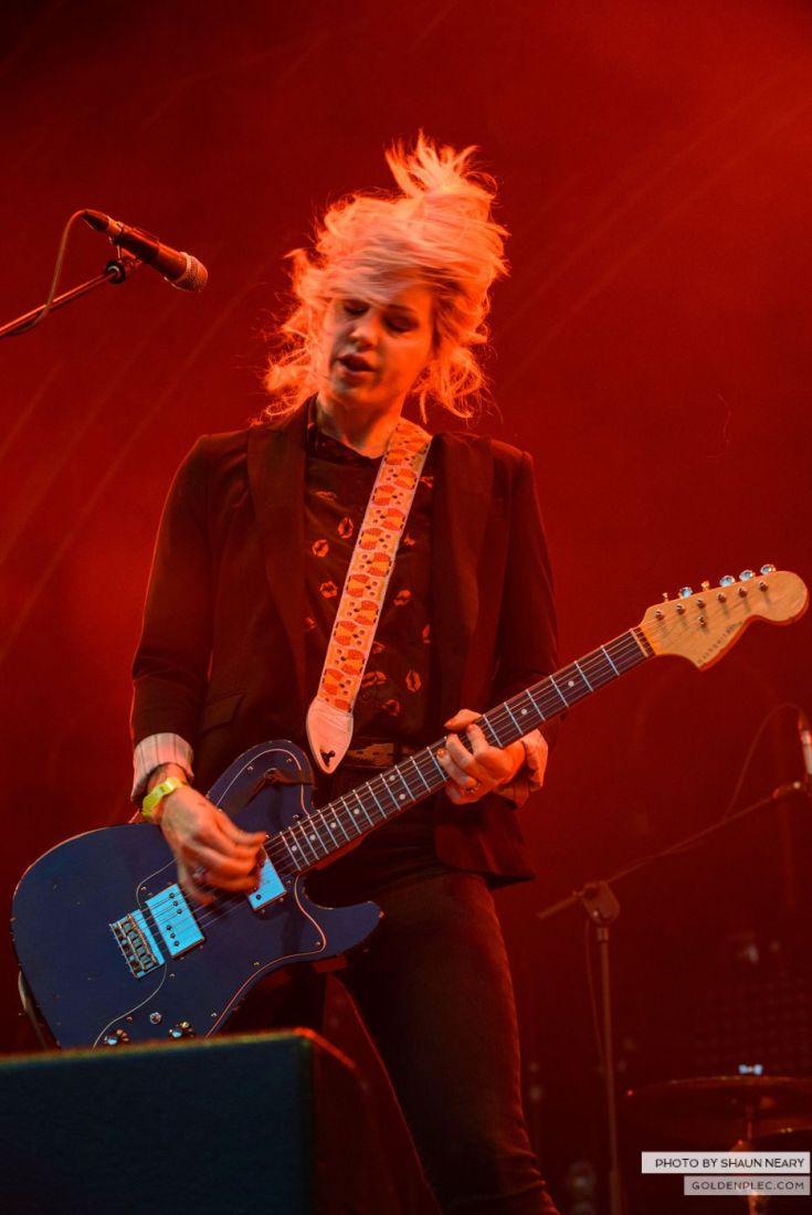 Brody Dalle – Belsonic, Belfast on August 20th 2014 by Shaun Neary-5