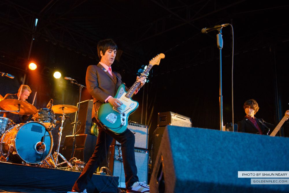 Johnny Marr at Leopardstown Racecourse, Dublin on August 7th 2014 by Shaun Neary-06