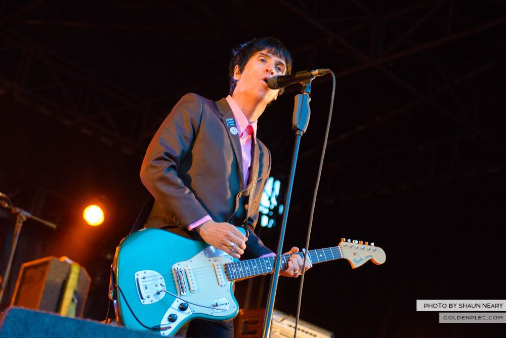 Johnny Marr at Leopardstown Racecourse, Dublin on August 7th 2014 by Shaun Neary-09