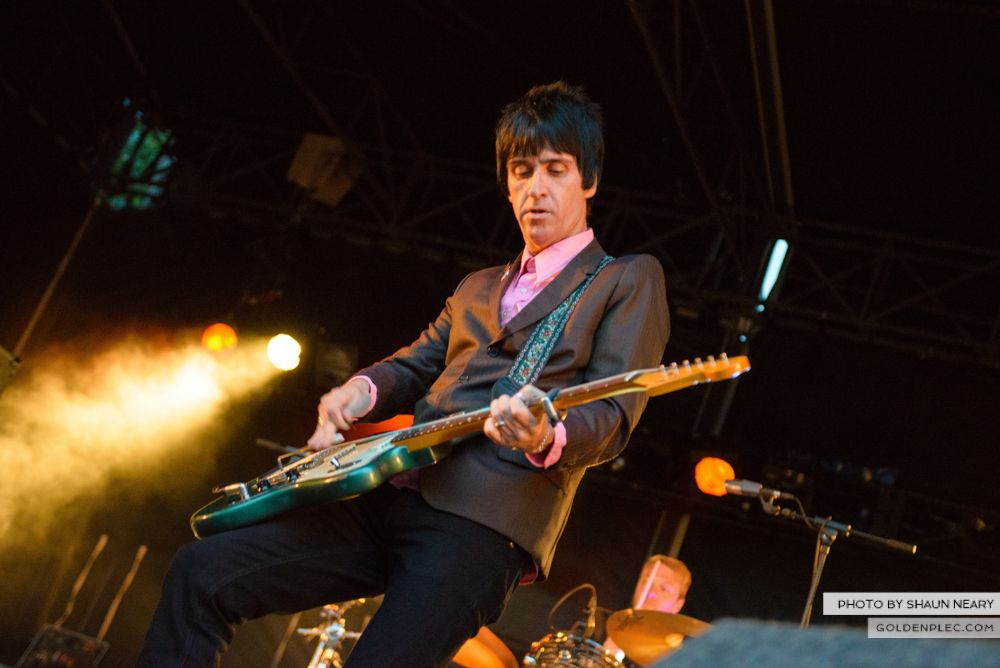 Johnny Marr at Leopardstown Racecourse, Dublin on August 7th 2014 by Shaun Neary-14