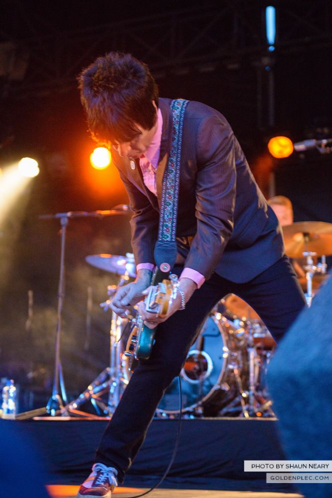Johnny Marr at Leopardstown Racecourse, Dublin on August 7th 2014 by Shaun Neary-15