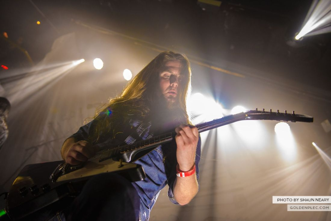 Carcass – The Academy, Dublin on September 20th 2014 by Shaun Neary-18