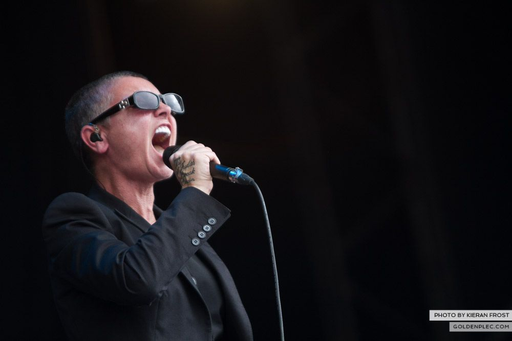 Sinead O'Connor at Electric Picnic by Kieran Frost