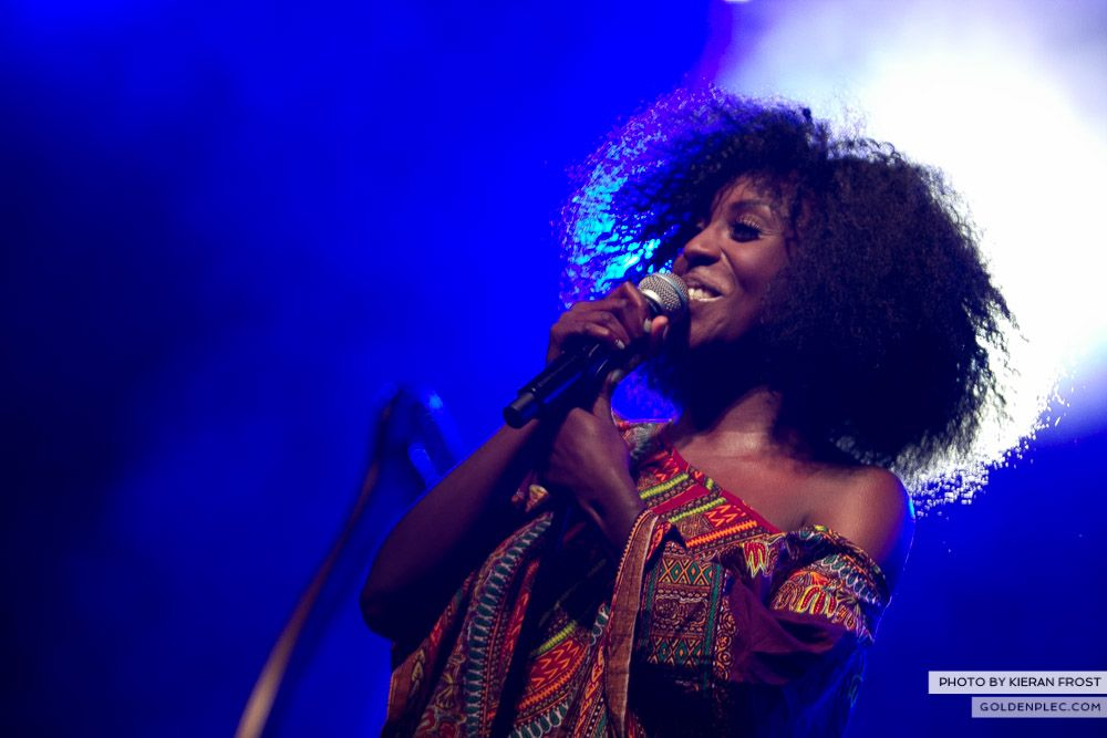 Laura Mvula at Electric Picnic by Kieran Frost