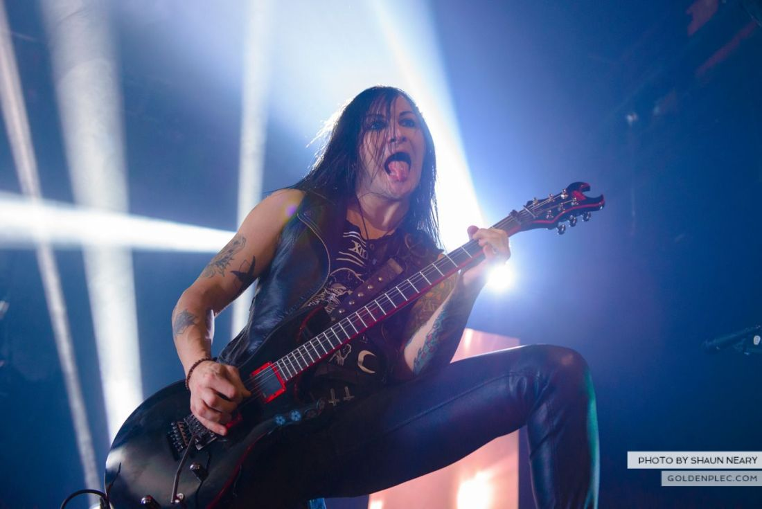 Black Veil Brides at The Olympia Theatre, Dublin on October 15th 2014 by Shaun Neary-07