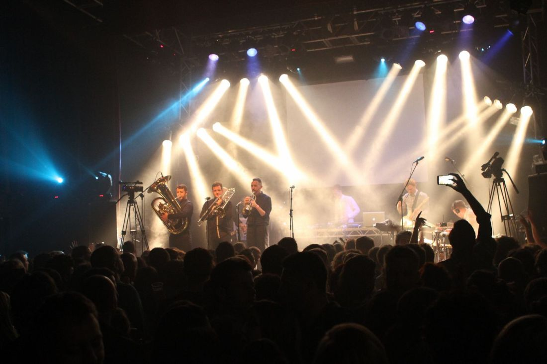 KORMACS BIG BAND at BUTTON FACTORY by MARK EARLEY