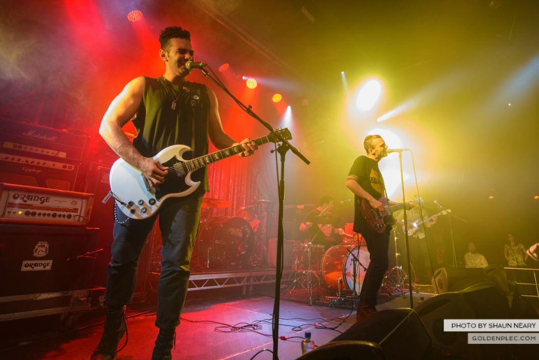 The So So Glos at The Academy, Dublin on October 18th 2014 by Shaun Neary-6