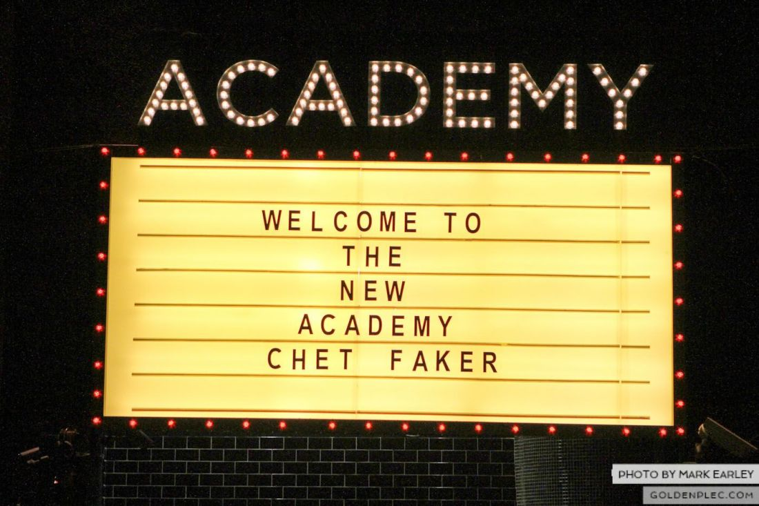 Chet Faker for Golden Plec by Mark Earley