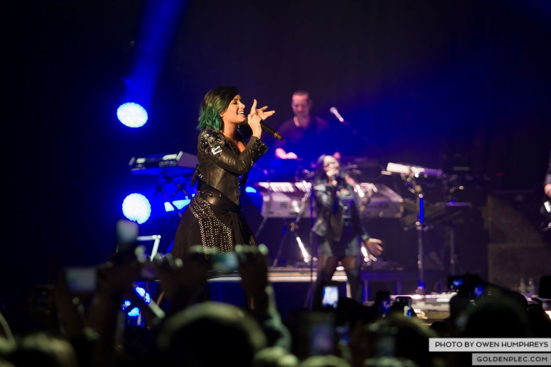 Demi Lovato at The 3Arena by Owen Humphreys (6 of 12)