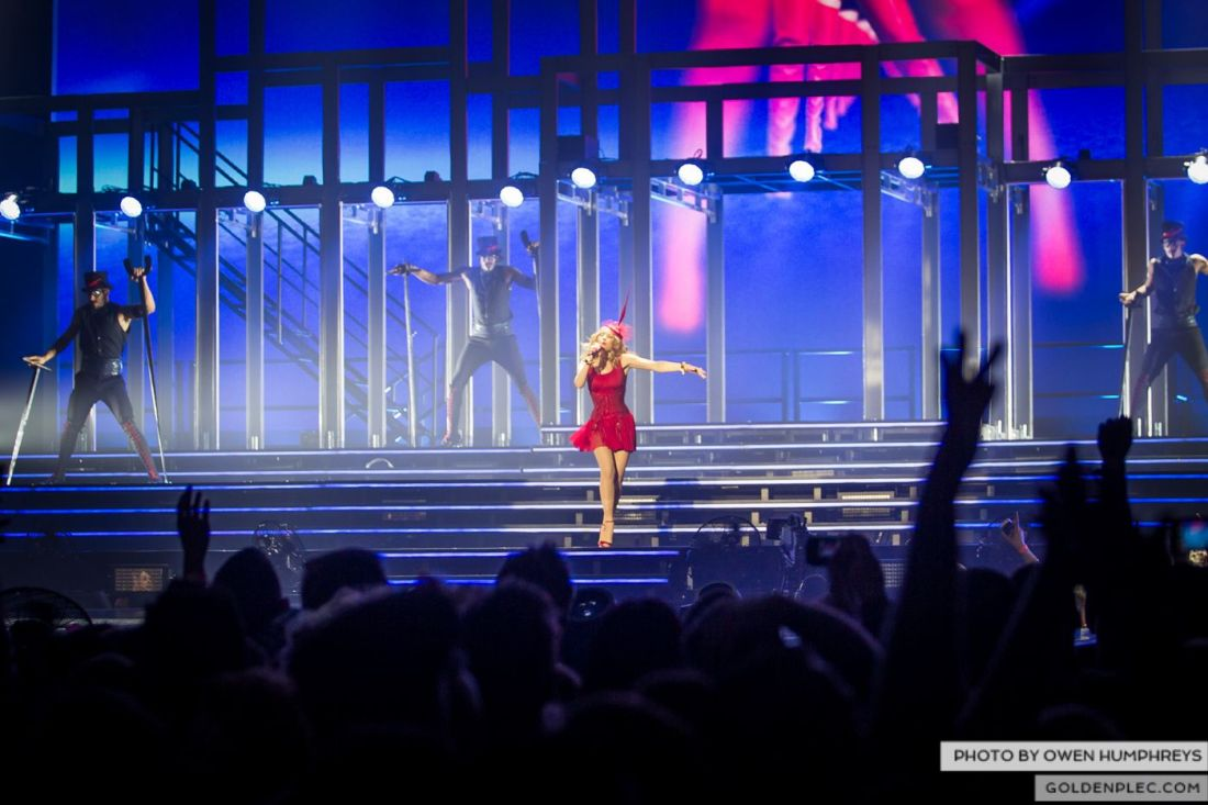 Kylie Minogue at the Three Arena by Owen Humphreys (7 of 15)