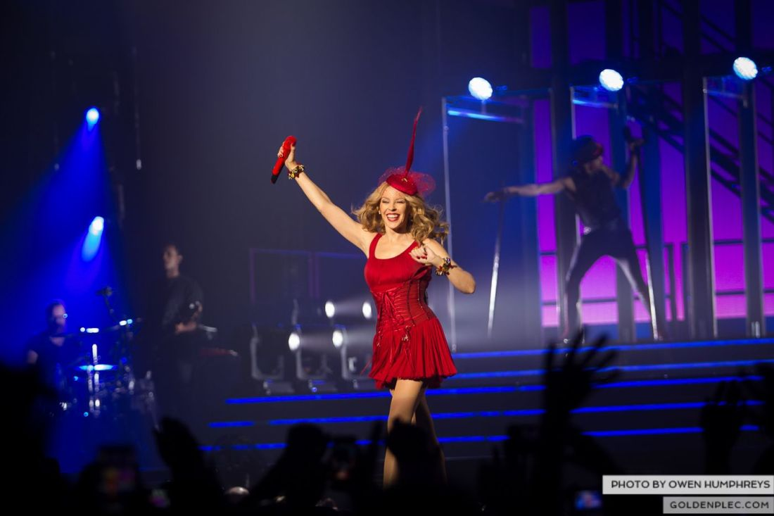 Kylie Minogue at the Three Arena by Owen Humphreys (8 of 15)