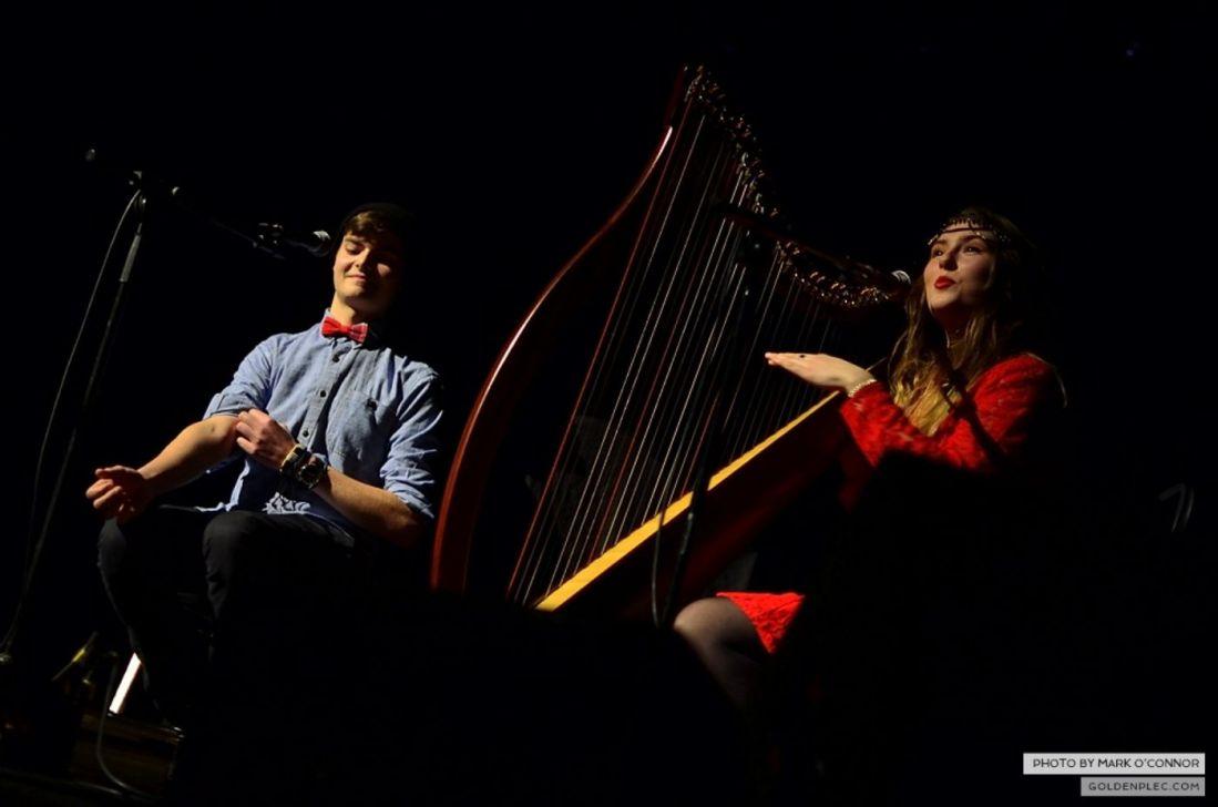 Natasha & Conor at the Olympia Theatre by Mark O' Connor