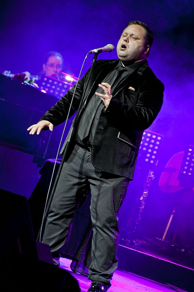 Paul Potts at The Olympia by Abraham Tarrush (3)