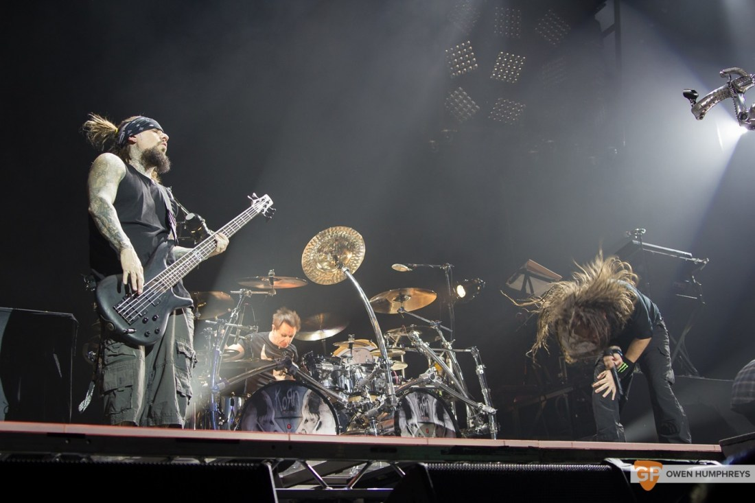Korn at The 3Arena by Owen Humphreys (3 of 14)