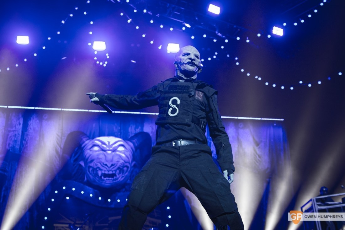 Slipknot at The 3Arena by Owen Humphreys (11 of 19)