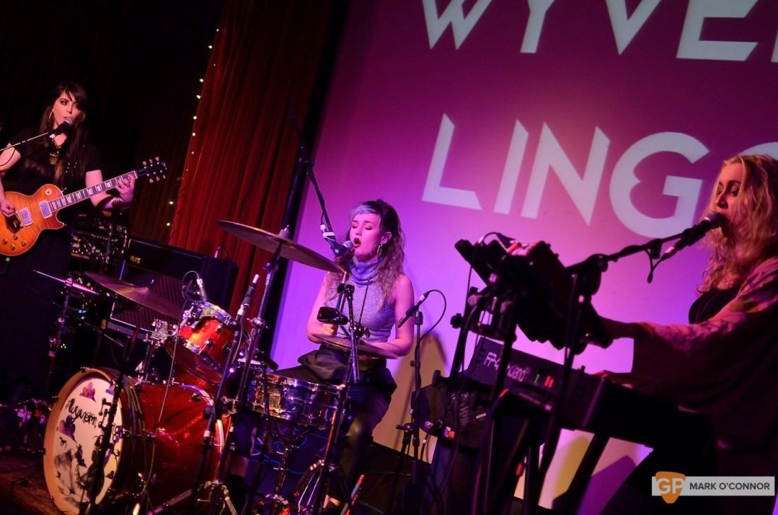 Wyvern Lingo in the Sugar Club by Mark O' Connor (IrishGigImages)
