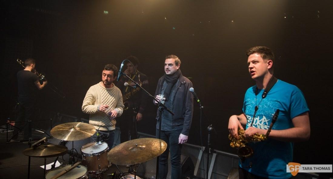 Booka Brass Band with Mark Austin & Richie Egan – Vicar Street – Dublin – Tara Thomas