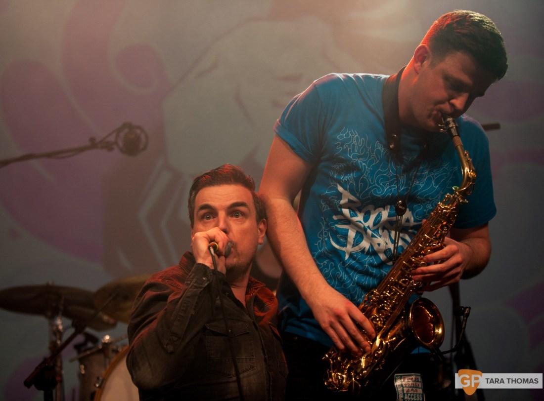 Booka Brass Band with Mark Austin – Vicar Street – Dublin – Tara Thomas