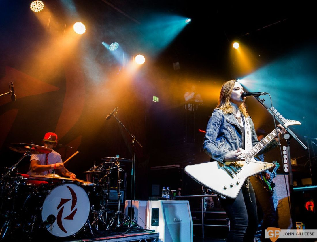 Halestorm @ The Academy by John Gilleese