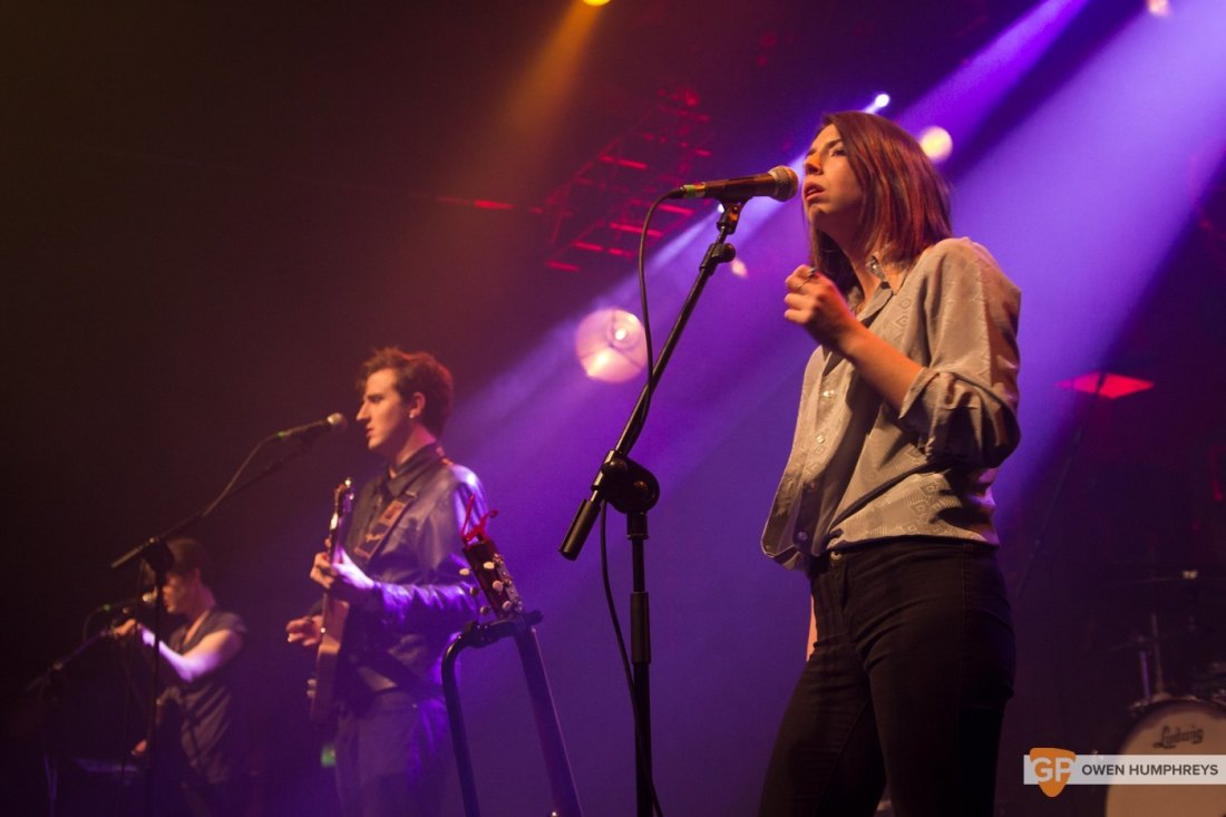 Little Green Cars at Jameson St. Patrick's Day Live at Vicar Street by Owen Humphreys (14 of 14)