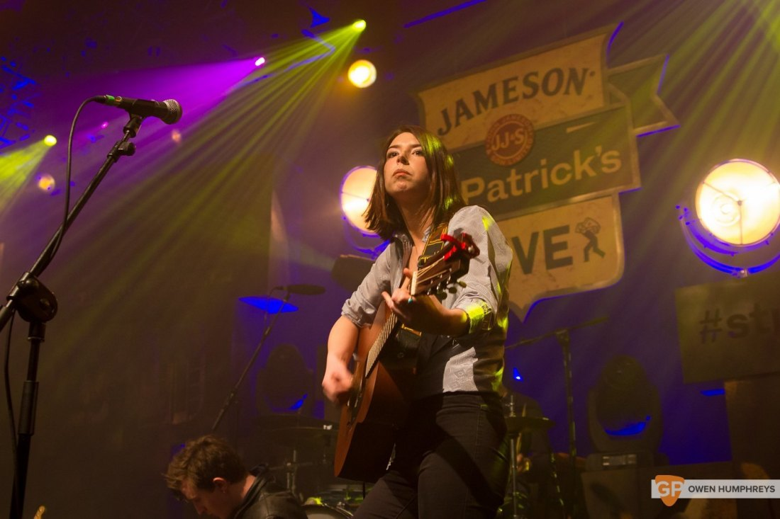 Little Green Cars at Jameson St. Patrick's Day Live at Vicar Street by Owen Humphreys (3 of 14)
